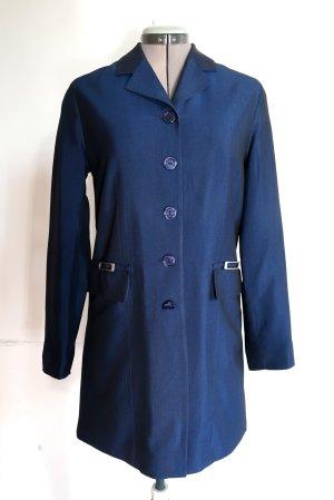 True Vintage Krótki płaszcz niebieski