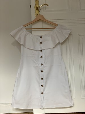 Zara A Line Dress white