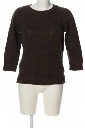 A.P.C. Crochet Sweater brown casual look