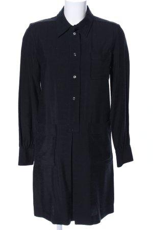 A.P.C. Vestido tipo blusón negro look casual
