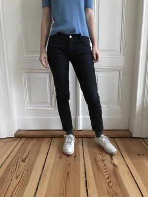 A.P.C. Jeans Etroit Court schwarz Größe 25