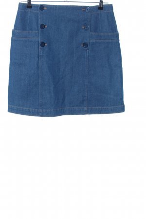 A.P.C. Gonna di jeans blu stile casual