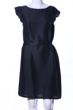 A.P.C. Kurzarmkleid schwarz Business-Look