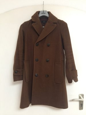 A.P.C. Cappotto in lana marrone