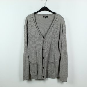 A.P.C. Cardigan white-grey brown cotton