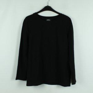 A.P.C. Sweatshirt noir coton