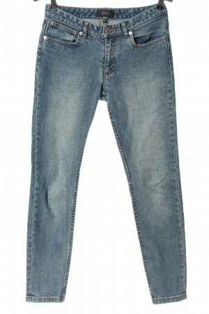 A.P.C. Tube jeans blauw casual uitstraling