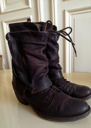 AS98 Boots western brun foncé