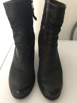 Airstep Botas con tacón negro