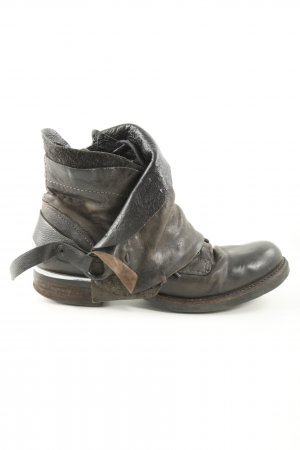 A.S.98 Ankle Boots light grey-brown casual look