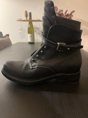A.S.98 Low boot noir