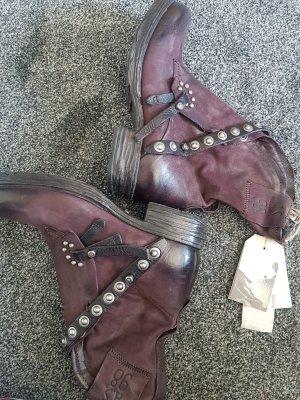 A.S.98 Desert Boots bordeaux
