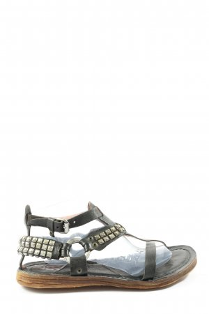 A.S.98 Dianette Sandals black casual look