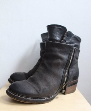 A.S.98 Buskins black-anthracite leather