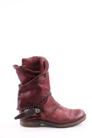 A.S.98 Halbstiefel rot Casual-Look