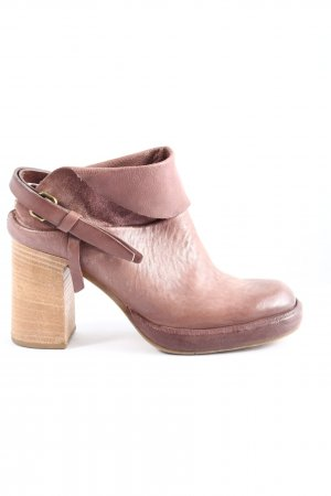 A.S.98 Hochfront-Pumps lila Casual-Look