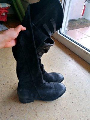 A.S.98 Cuissarde noir-argenté