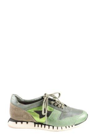 A.S.98 Sneaker stringata multicolore stile atletico