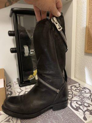 A.S.98 Krótkie buty czarny