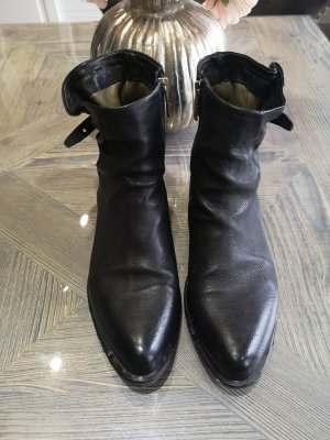 A.S.98 Low boot noir