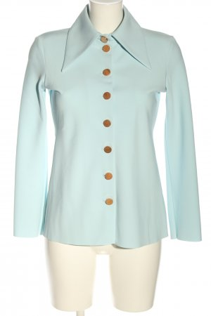 A.W.A.K.E. Hemd-Bluse blau Casual-Look