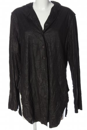 A-Z Shirt Blouse black allover print casual look
