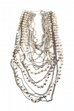 A-Zone Collier Necklace silver-colored-gold-colored casual look