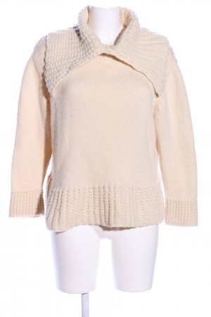 A1 collections Wollpullover creme Casual-Look
