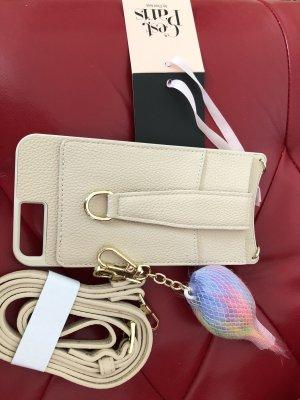 """A24 Handyhülle mit Umhängeriemen iPhone Plus size 6/7/8 """"beige"""""""