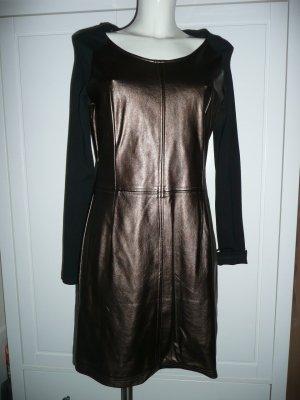 Aaiko Sheath Dress bronze-colored polyurethane