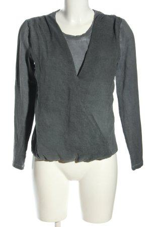 Aaiko Long Sleeve Blouse light grey casual look