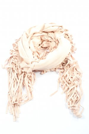 Aaiko Shoulder Scarf cream casual look