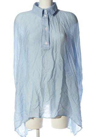 Aakasha Koszulowa bluzka niebieski W stylu casual