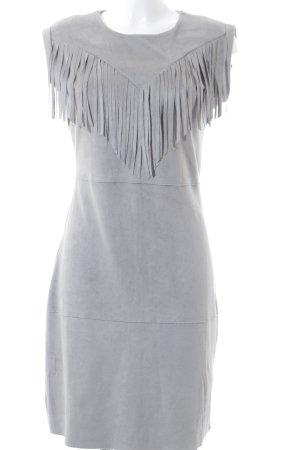 Aako Sheath Dress light grey Boho look