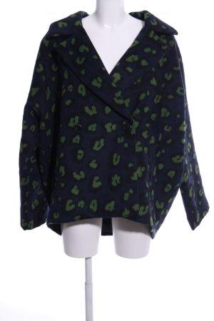 Aako Short Jacket animal pattern casual look