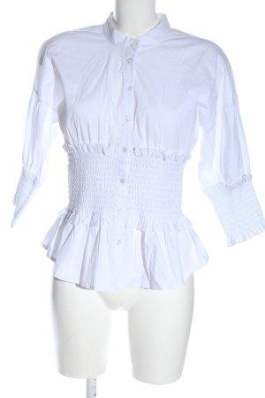 Aako Shirt met lange mouwen wit elegant