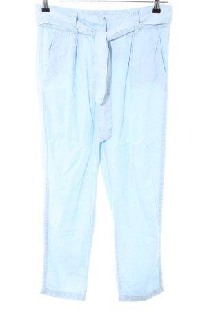 Aako Pantalon en jersey bleu style décontracté