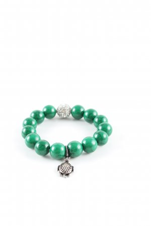 AB Bracelet green casual look