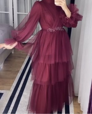 abaya Abendkleid