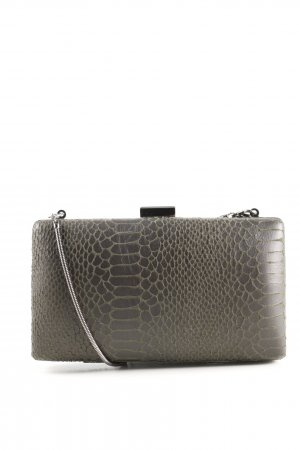 Abbacino Borsa clutch marrone stampa integrale stile casual