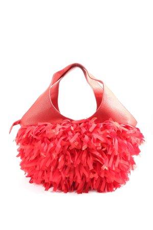 Abbacino Fringed Bag red elegant