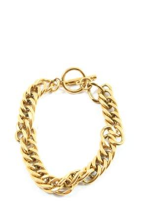 abbott lyon Braccialetto sottile oro stile casual
