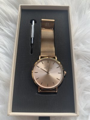 abbott lyon Watch With Metal Strap gold-colored-rose-gold-coloured