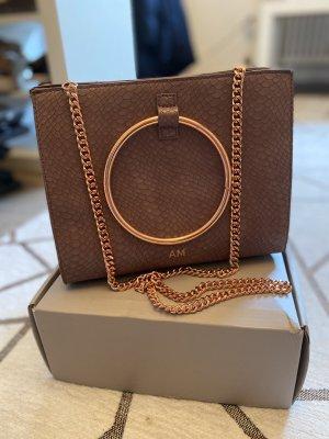 ABBOTT LYON Mauve Moda Handbag Rosé Gold