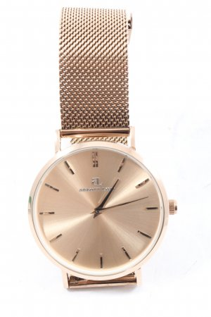abbott lyon Watch With Metal Strap gold-colored elegant