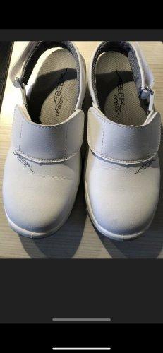 Pantoufles blanc