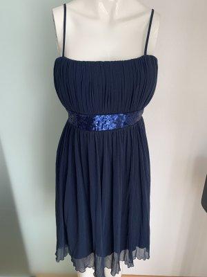 Vestido bustier azul oscuro-azul