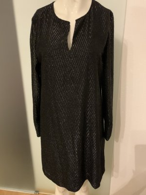 Abend Kleid mit Glitzer Gr 36 S bon Hallhuber