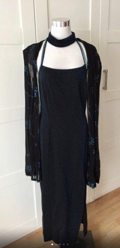 Abend- oder Partykleid, mit Stola Gr. 38