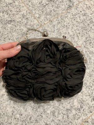 Borsa telaio nero